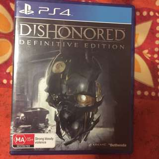 Dishonoured Definitive Edition PS4