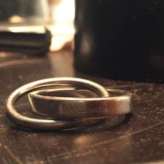 CK Calvin Klein 'Double Ring'
