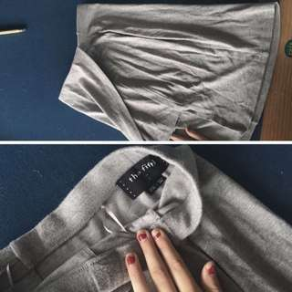 Grey Skirt - Brand: The Fifth