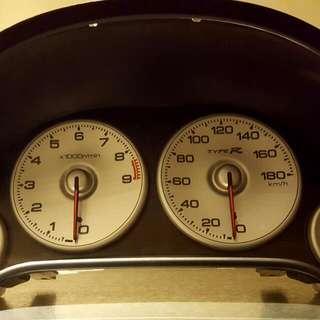 Honda Dc5r Integra Type R Gauge