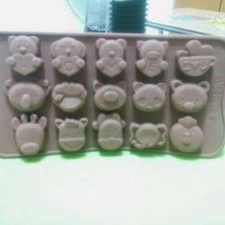 巧克力動物模具