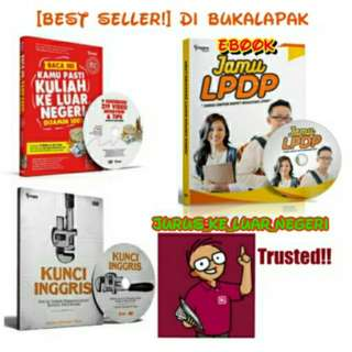 Jual Buku + DVD JKLN + KUNCI INGGRIS Bonus Ebook JAMU LPDP, Paling Murah Se Bukalapak! Baru | Buku Pendidikan Online Harga Murah
