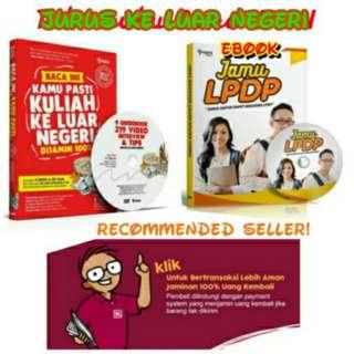 Jual Buku + DVD Jurus Kuliah Ke Luar Negeri - JKLN + Bonus Ebook JAMU LPDP Paling Murah Se Bukalapak! Baru | Buku Pengembangan Diri Best Seller Murah