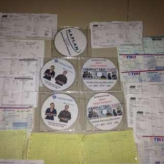 Buku dan Video Tutorial Persiapan Ujian / Tes GMAT