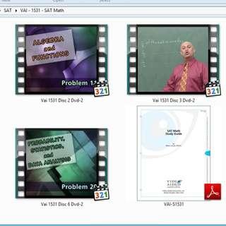 Video Tutorial, Buku Digital dan File Persiapan Ujian / Tes SAT