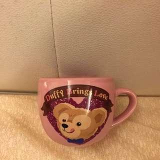 達菲熊 情人節咖啡杯duffy