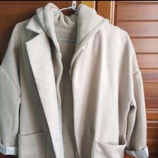 韓版大衣(兩件式)