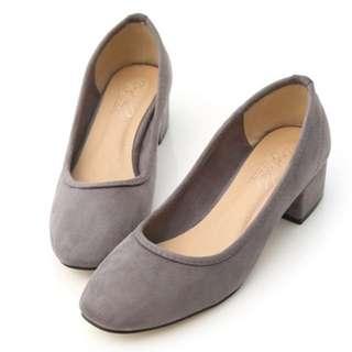 跟鞋(灰色偏深)