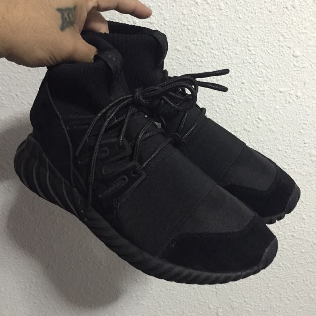 fe1247d5feb8 8.5US Adidas Tubular Doom Pk Triple Black