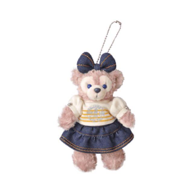 日本迪士尼達菲雪莉妹吊飾