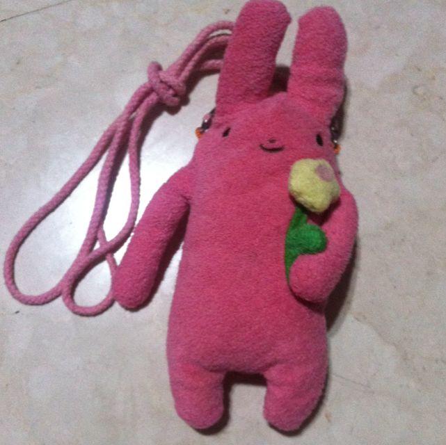 兔子娃娃手機套玩偶