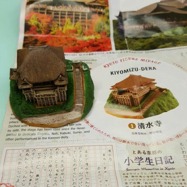 日本京都限定 扭蛋 京都清水寺