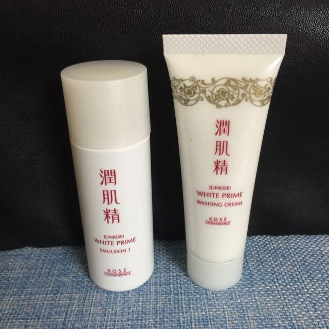 高絲 植淬白 潤肌精 乳液(清爽) 洗顏霜