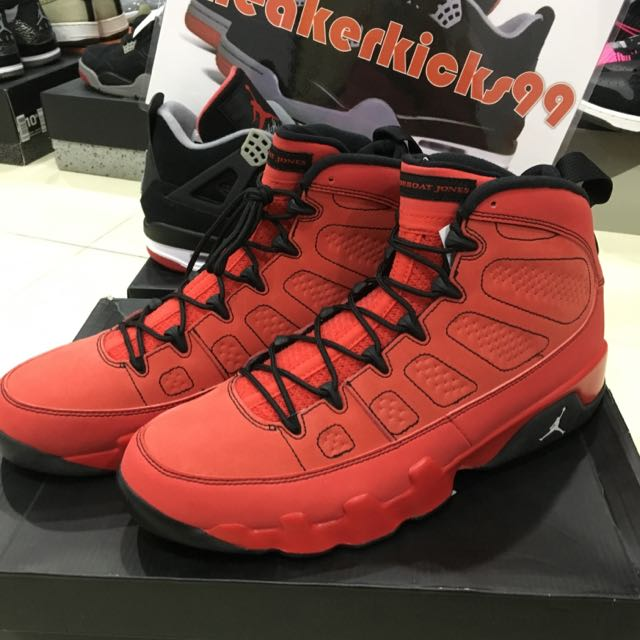 super popular 8d755 7b83b Air Jordan 9 Retro Motorboat Jones US11, Sports on Carousell