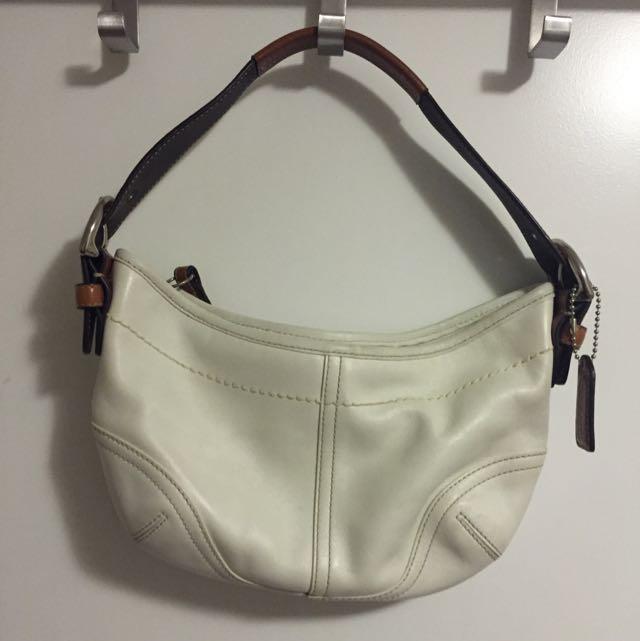 Authentic Coach Wristlet Handbag