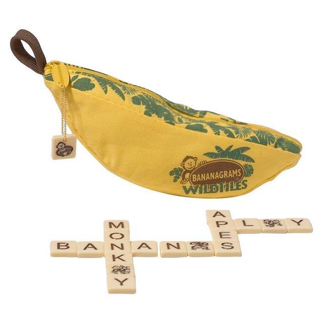 Bananagrams Wild Tiles 拼字遊戲 #桌遊 #scrabble #玩具 #益智