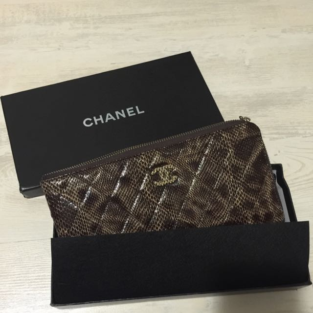 Brand new Chanel style clutch