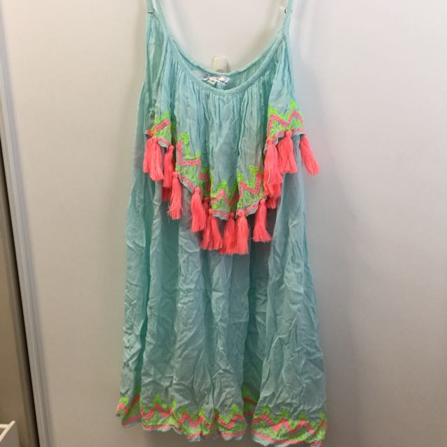 Cute Tassel Beach Dress