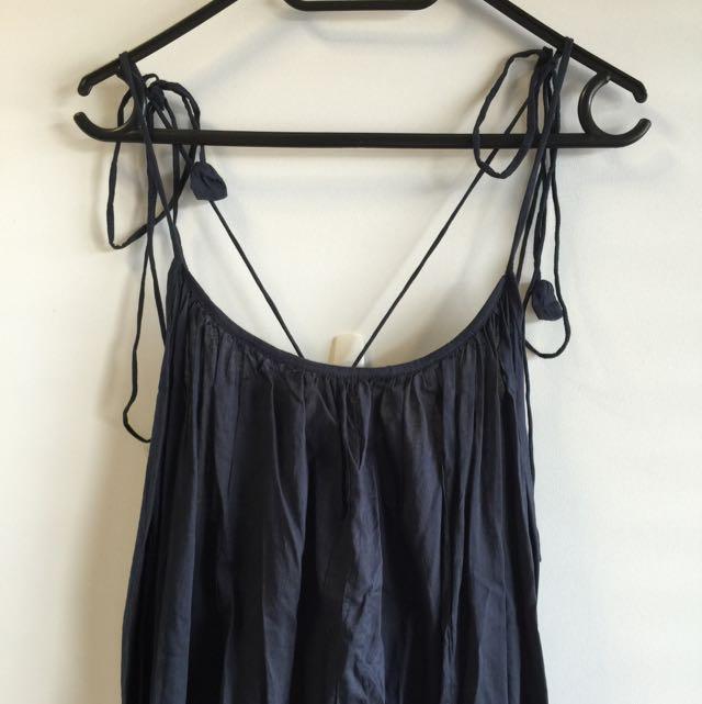 Daun Black Maxi Dress