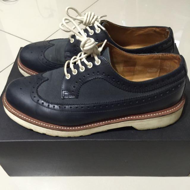 dr.martens 5孔 牛津鞋