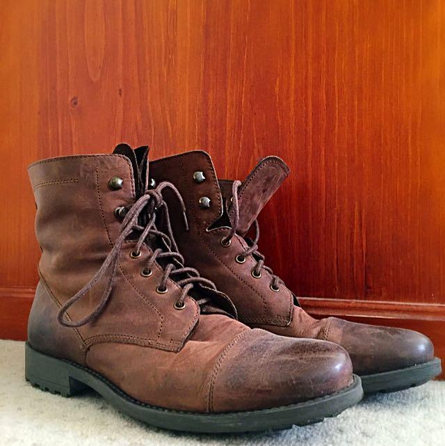 Florsheim Men's Boots, Brown, Size 43 EU