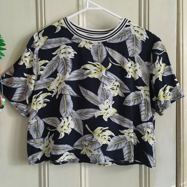 Forever 21 tropical top