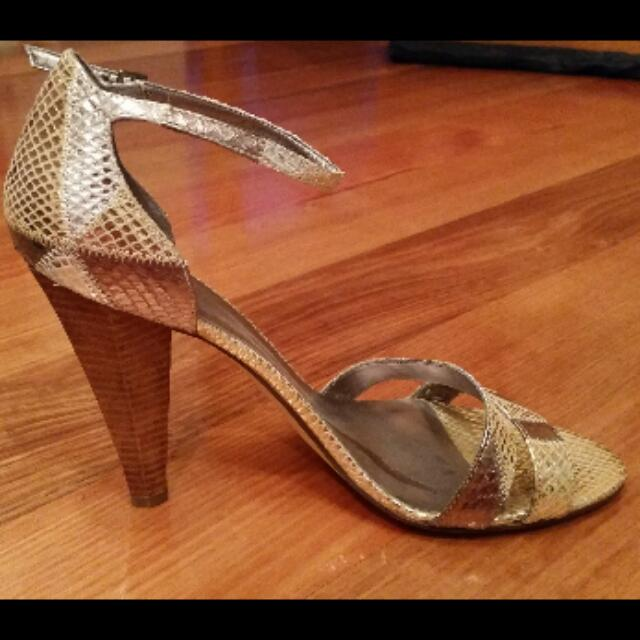 Guess Shoes - Leather Heels, Size 10