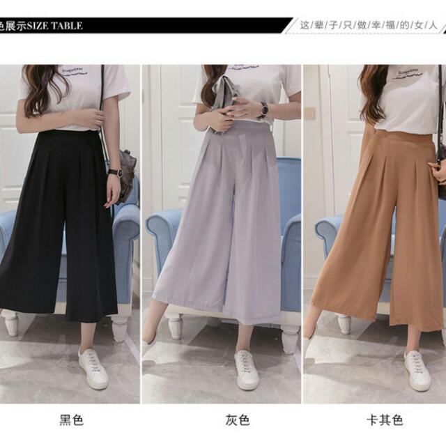 JKXXJ04928 大尺碼 寬褲(3色)