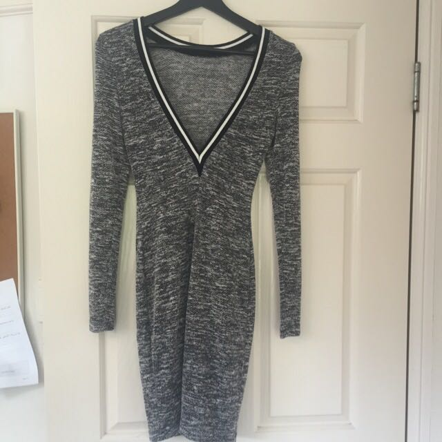 Low V Cut Back - Dress