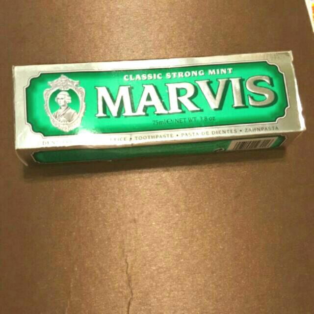 【現貨】義大利MARVIS牙膏75ML-綠經典薄荷