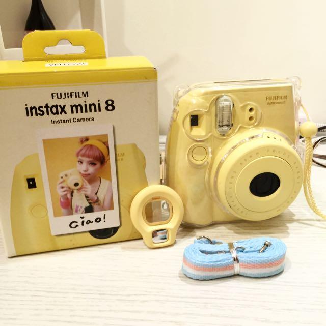 富士mini8 黃色
