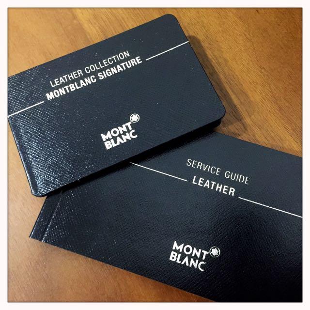 Montblanc Signature 6cc Wallet