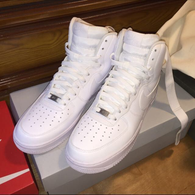 nike air force  白色高筒