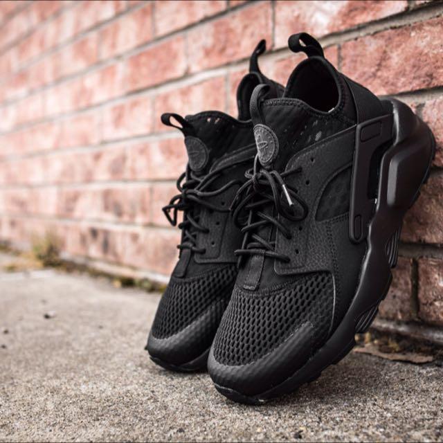64abef07ce3f Nike Air Huarache Ultra Triple Black