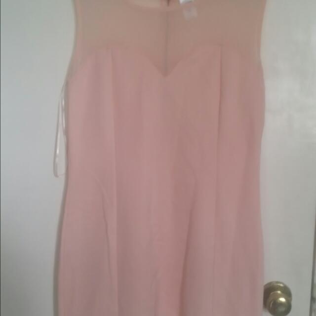 Peach Coloured dress