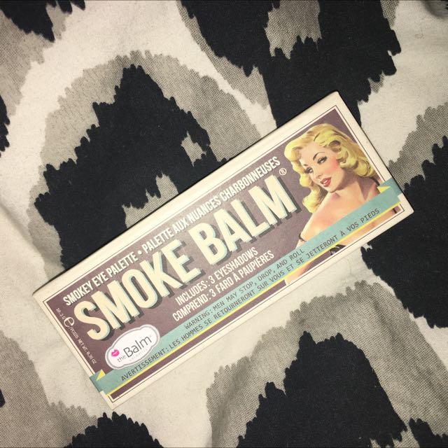 The Balm Cosmetics Smoke Balm Eyeshadow Palette