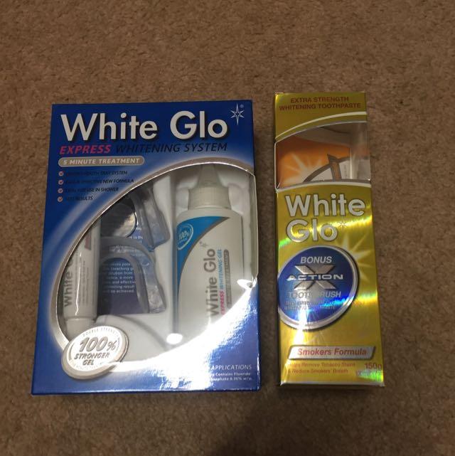 White Glo Teeth Whitening Set