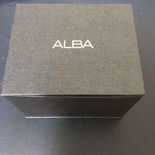 ALBA手錶盒