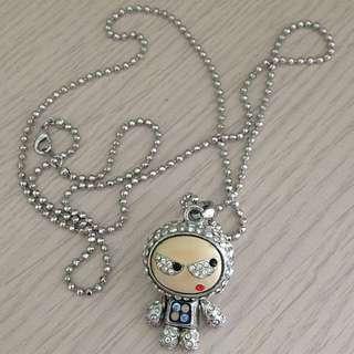 Robo Crystal Necklace