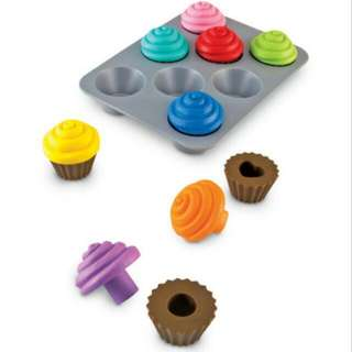 BNIB Learning Resource Shape Sorting Cupcakes