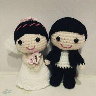 Crochet Wedding Doll