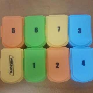 Watsons 8 Days Pill Box/medicine Box