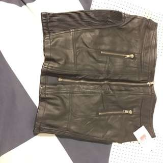 Leather Skirt!