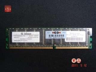 二手桌上型電腦256MB RAM良品,貼紙上有hp胋紙只要賣30元,如要寄送運費+65元
