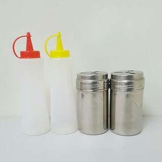 4入 調味罐 大胡椒罐 醬汁罐 油罐