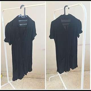 Preloved Black Playsuit