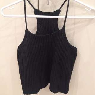 Like New Knit Crop Top Size S