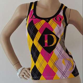 Dior Harlequin Top
