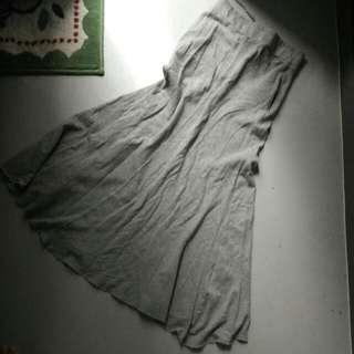 Lowry Farm Grey Pocket Skirt