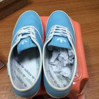 Adidas休閒鞋/淺藍#二手品牌好鞋